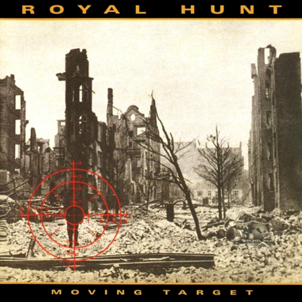 Royal Hunt - Moving Target CD (album) cover