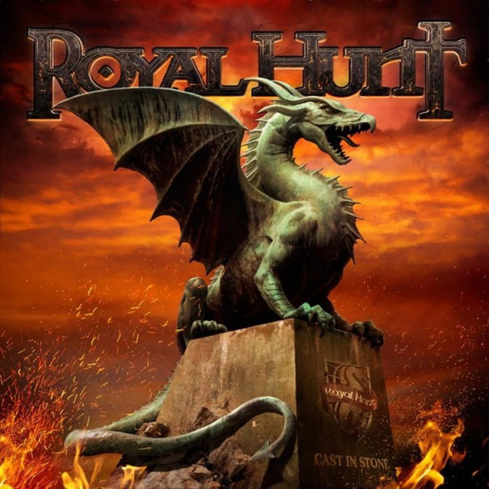 Royal Hunt Cast In Stone album cover