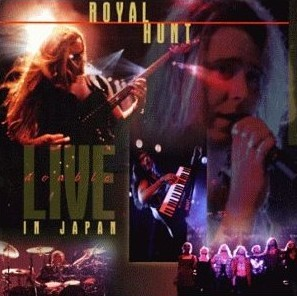 Royal Hunt Double Live In Japan  album cover