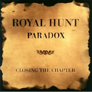 Royal Hunt Paradox - Closing the Chapter album cover