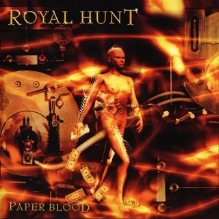 Royal Hunt - Paper Blood CD (album) cover