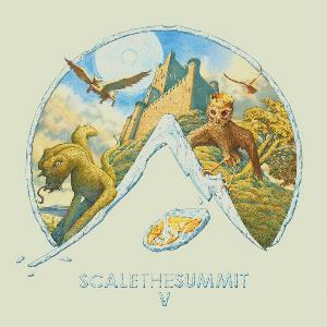 V by SCALE THE SUMMIT album cover