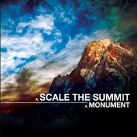 Scale The Summit - Monument CD (album) cover
