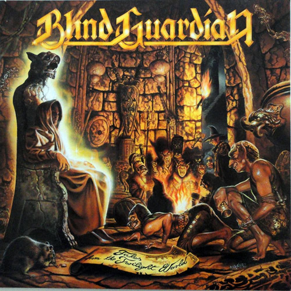 Tales From The Twilight World by BLIND GUARDIAN album cover