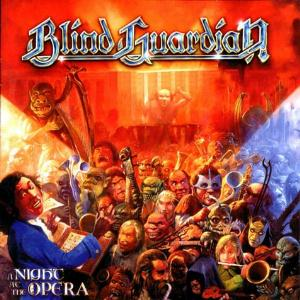 Blind Guardian - A Night at the Opera CD (album) cover