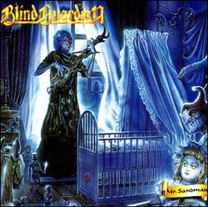 Blind Guardian Mr. Sandman album cover