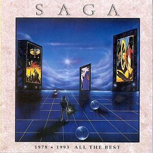 Saga All The Best 1978 - 1993 album cover