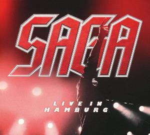 Live in Hamburg by SAGA album cover