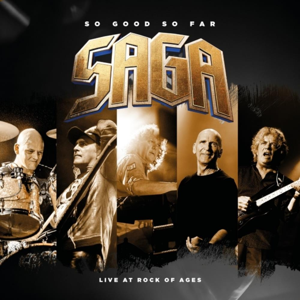So Good So Far - Live at Rock of Ages by SAGA album cover