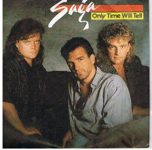Saga Only Time Will Tell album cover
