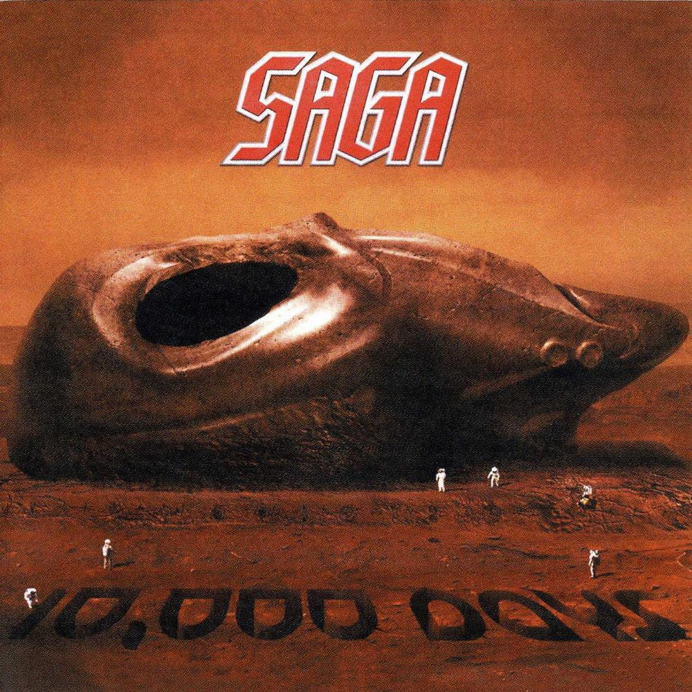 10.000 Days by SAGA album cover