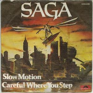 Saga Slow Motion album cover