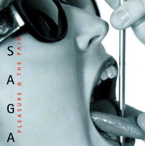 Saga - The Pleasure & The Pain  CD (album) cover