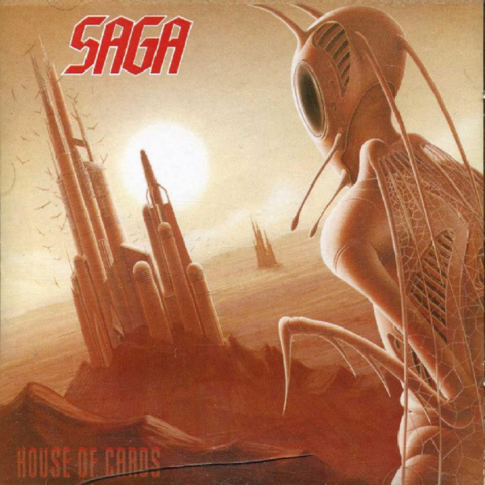 Saga - House Of Cards CD (album) cover