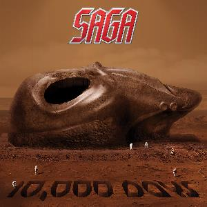 Saga - 10.000 Days CD (album) cover