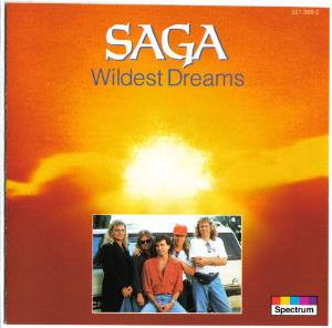 Saga Wildest Dreams album cover