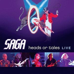 Saga Heads Or Tales Live album cover