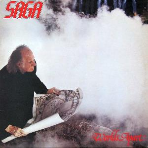 Worlds Apart by SAGA album cover