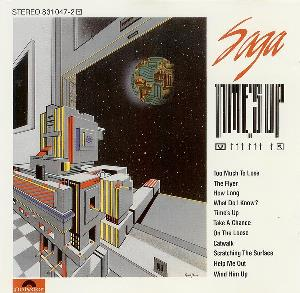 Time's Up by SAGA album cover