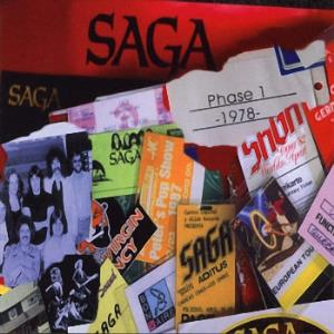 Saga - Phase One CD (album) cover