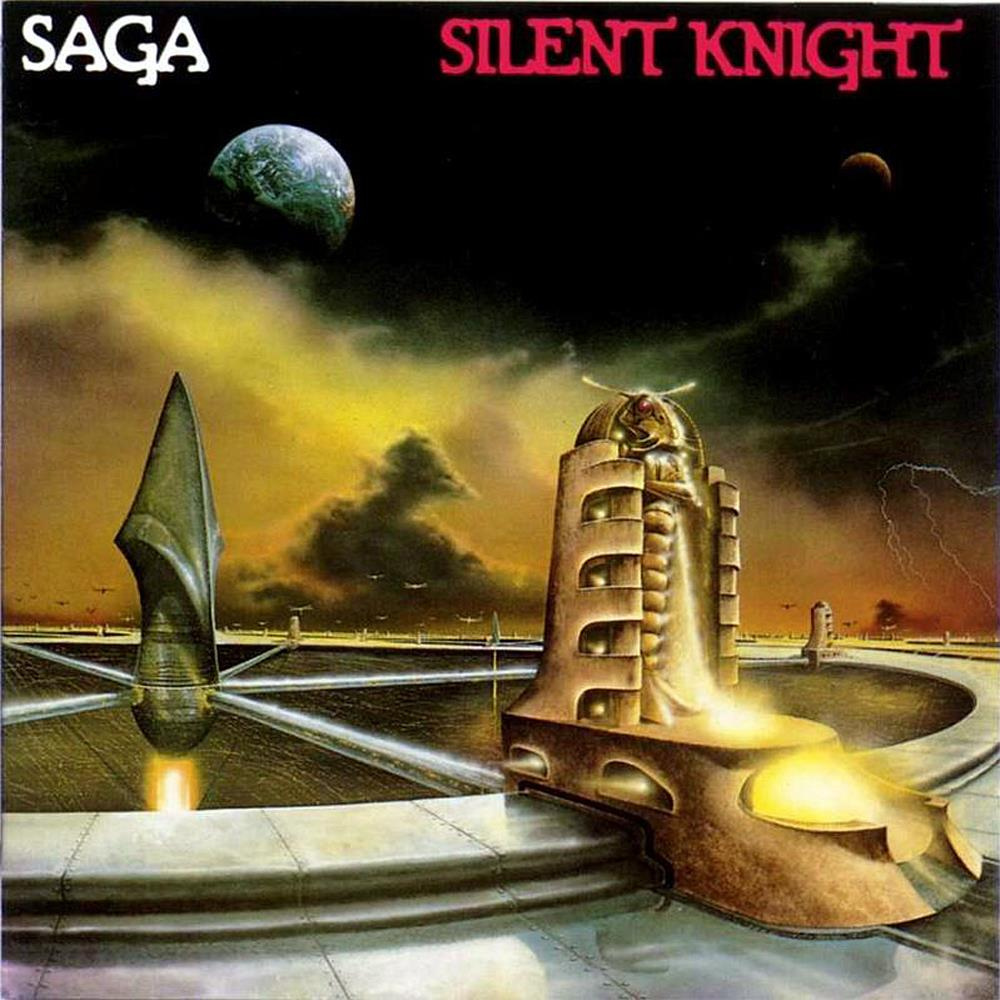 Silent Knight by SAGA album cover