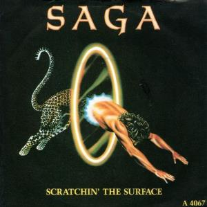 Saga Scratchin' the Surface album cover
