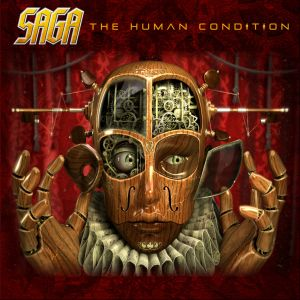 Saga The Human Condition album cover