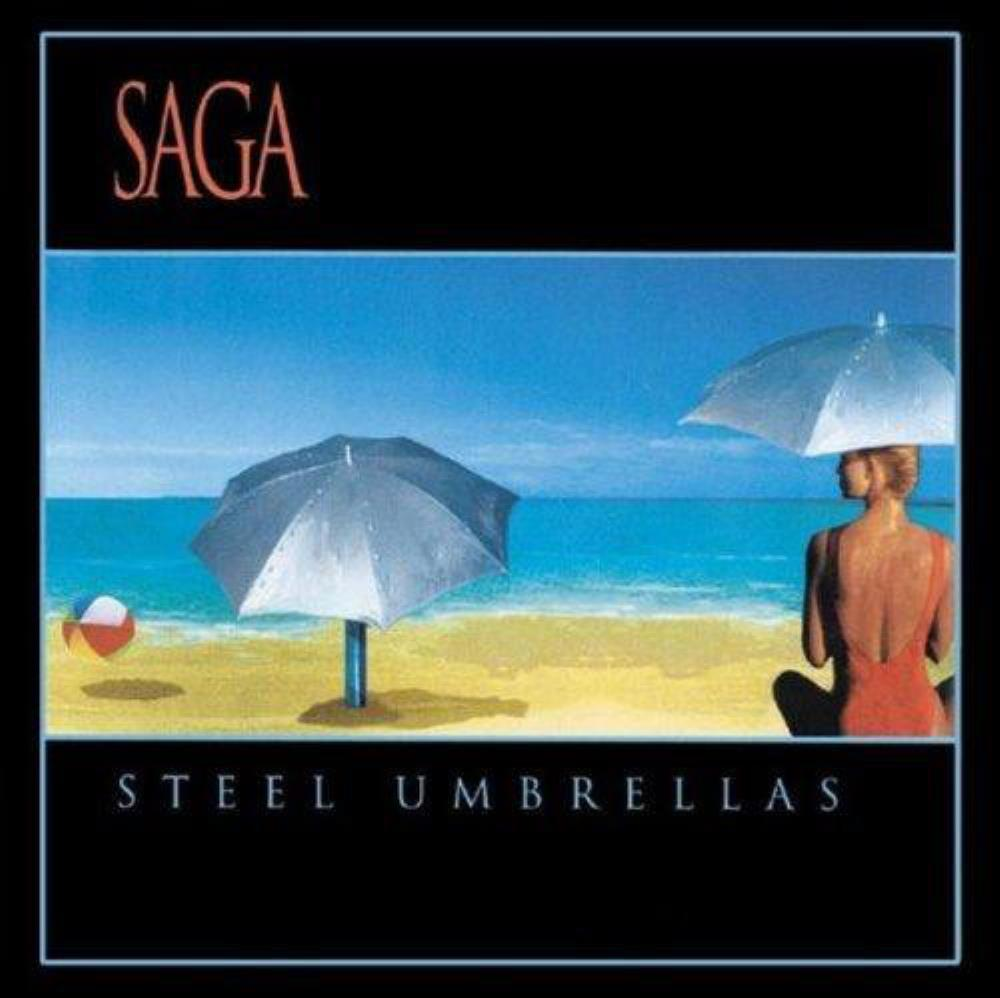Saga Steel Umbrellas album cover