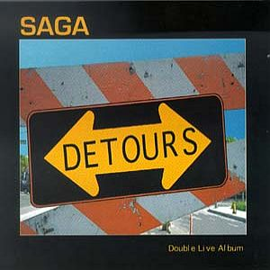 Saga - Detours CD (album) cover