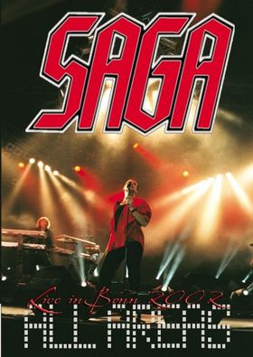 All Areas: Live in Bonn 2002 by SAGA album cover