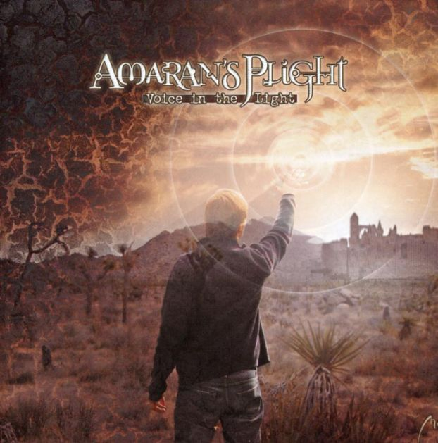Amaran's Plight - Voice In The Light CD (album) cover