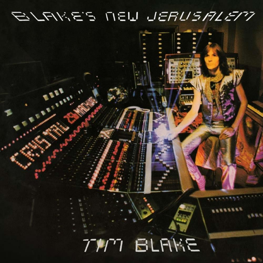 Tim Blake Blake's New Jerusalem album cover