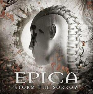 Epica Storm the Sorrow album cover