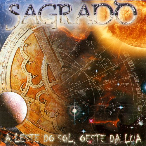 Sagrado Coracao da Terra - A Leste do Sol, Oeste da Lua CD (album) cover