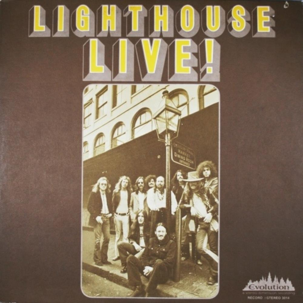 Lighthouse Live by LIGHTHOUSE album cover