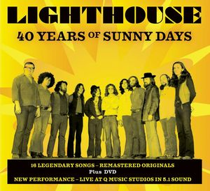 Lighthouse 40 Years Of Sunny days album cover