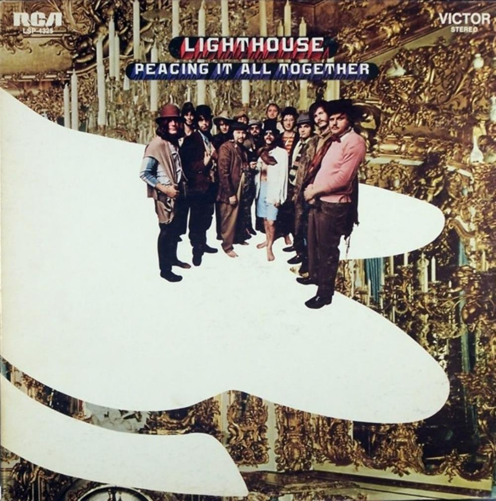 Lighthouse - Peacing It All Together CD (album) cover