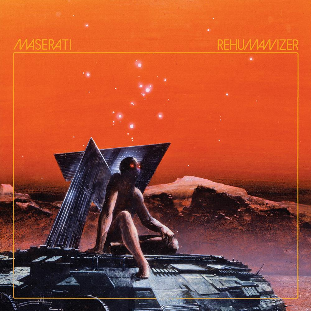 Rehumanizer by MASERATI album cover