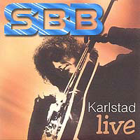 SBB - Karlstad Live CD (album) cover