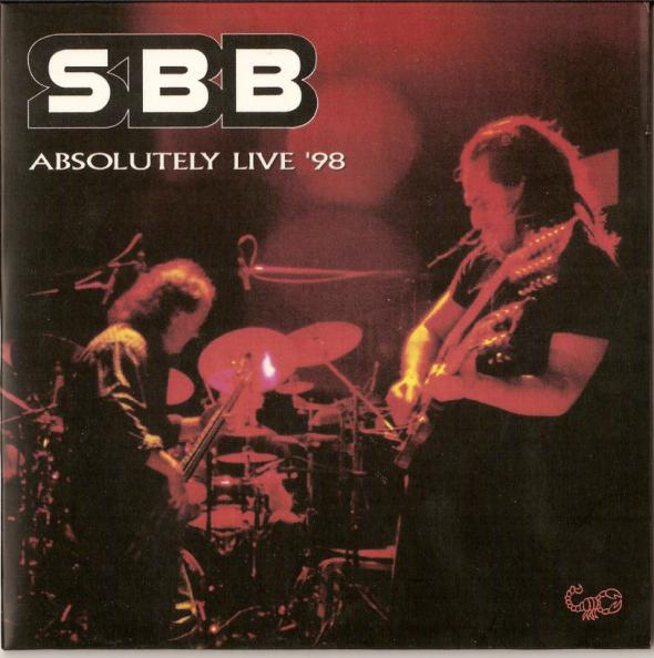 SBB Absolutely Live '98 album cover