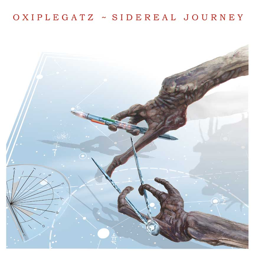 Oxiplegatz Sidereal Journey album cover