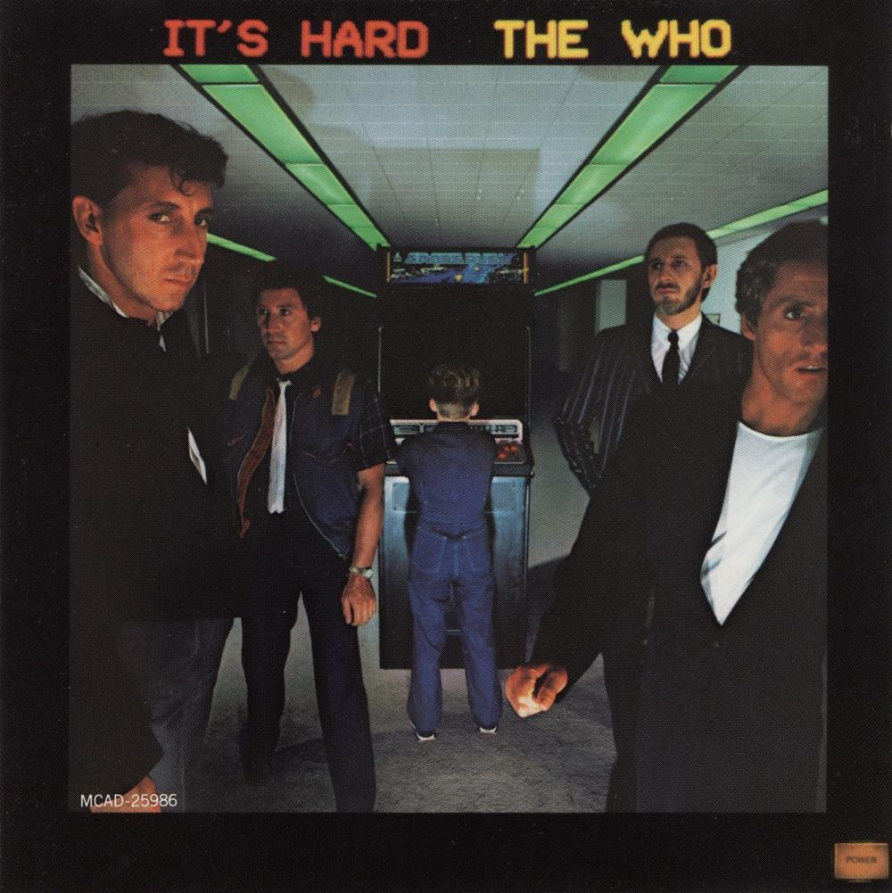 The Who - It's Hard CD (album) cover