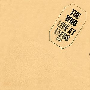 The Who Live At Leeds album cover