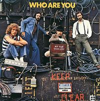 The Who in 1978 (front cover of Who Are You)