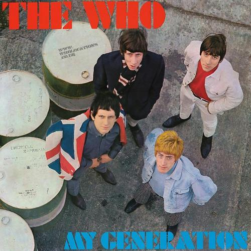 The Who - My Generation CD (album) cover