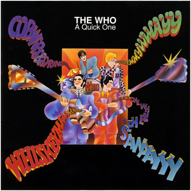 A Quick One by WHO, THE album cover