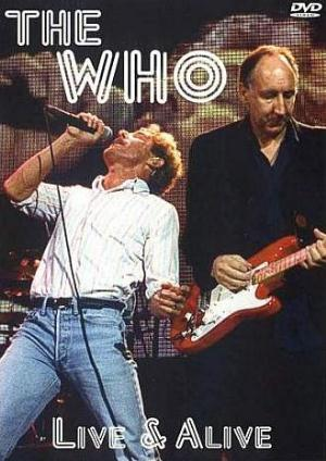 The Who - Live & Alive CD (album) cover