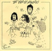 The Who By Numbers album cover