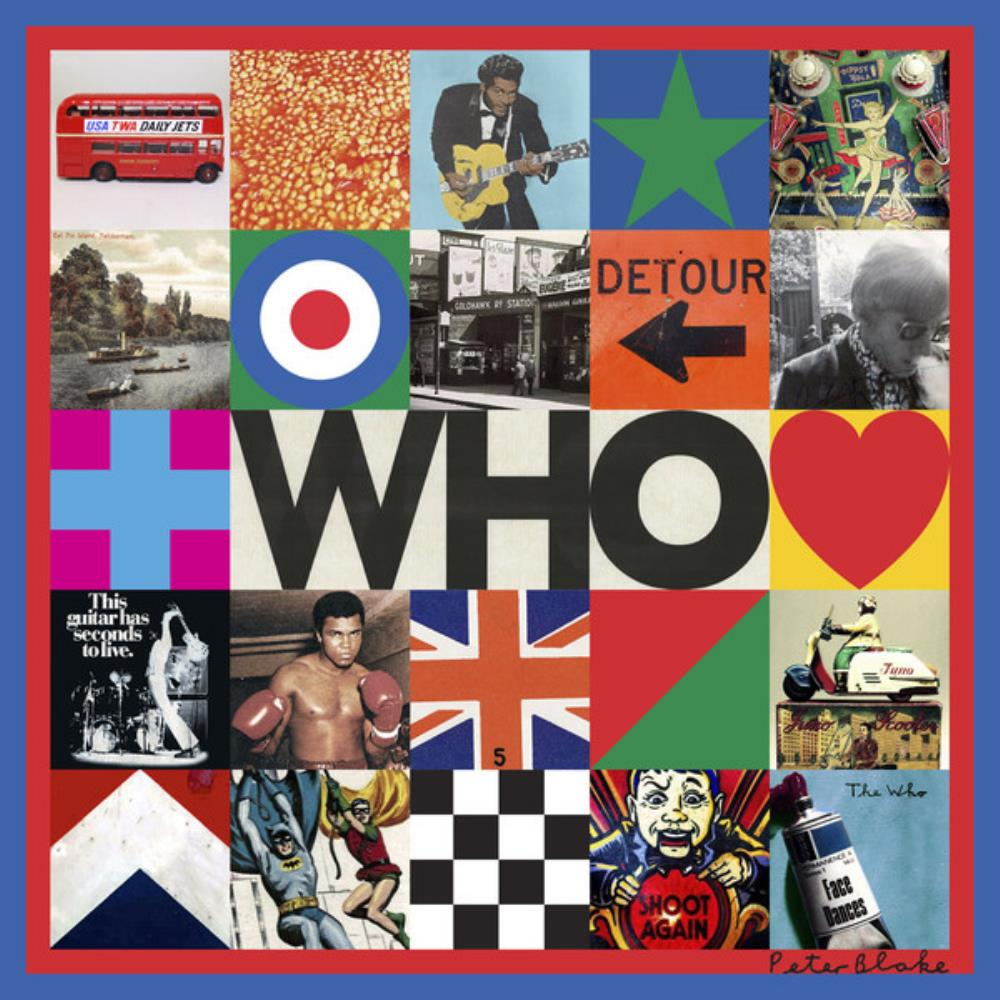 WHO by WHO, THE album cover