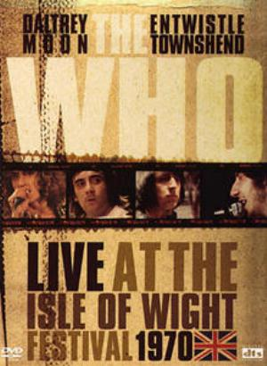 Live at the Isle of Wight Festival by WHO, THE album cover